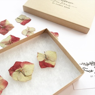 Face Florals // Just Hydrangeas